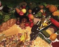 Alimento biologico Fotografia Stock