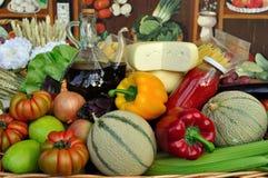 Alimento biologico Fotografie Stock