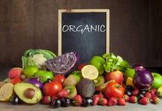Alimento biologico Immagini Stock Libere da Diritti