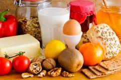 Alimento biologico naturale Fotografia Stock Libera da Diritti