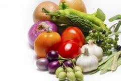 Alimento biologico sano della verdura cruda immagine stock