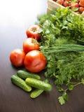 Alimento biologico sano - frutta e verdure fotografia stock