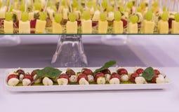 Alimento bonito e saboroso no restaurante Foto de Stock
