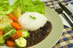 Alimento brasiliano Immagini Stock