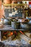 Alimento brasiliano tradizionale che è preparato fotografie stock libere da diritti