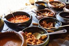 Alimento brasiliano tradizionale fuori dal rgion fuori da Minas Gerais Immagine Stock Libera da Diritti