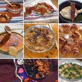 Alimento bulgaro tradizionale Fotografia Stock