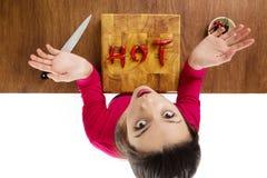 Alimento caldo Fotografie Stock Libere da Diritti