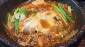 Alimento caldo del giapponese di ramen archivi video