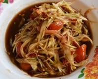 Alimento caldo e piccante Immagine Stock