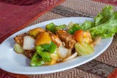 Alimento cambogiano di Khmer Fotografia Stock Libera da Diritti