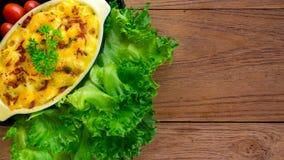 alimento caseiro do macarrão e do queijo Fotos de Stock
