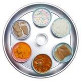 Alimento in cassetti Fotografie Stock Libere da Diritti