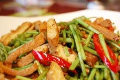 Alimento chinês Foto de Stock