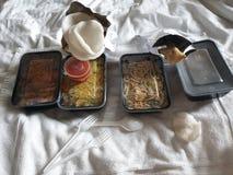 Alimento chinês Atenas fotos de stock royalty free