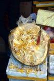 Alimento chinês da rua no Hutongs da rua de Wangfujing do Pequim Fotografia de Stock Royalty Free