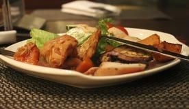 Alimento chinês delicioso fotos de stock royalty free