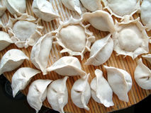 Alimento chinês do bolinho de massa (Jiaozi) Fotos de Stock
