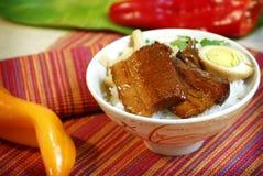 Alimento chinês e vietnamiano Foto de Stock