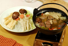Alimento chinês ou vietnamiano Fotografia de Stock Royalty Free