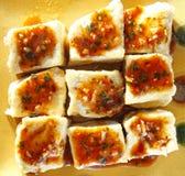 Alimento chinês, tofu Fotografia de Stock