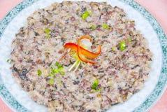 Alimento chinês, torta de carne cozinhada conservada Fotografia de Stock