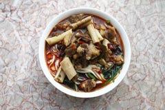 Alimento chino Imágenes de archivo libres de regalías