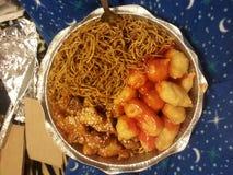 Alimento chino Fotos de archivo libres de regalías