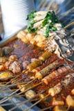 Alimento chino de la calle imagen de archivo libre de regalías