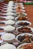 Alimento chino del rezo Imagen de archivo libre de regalías