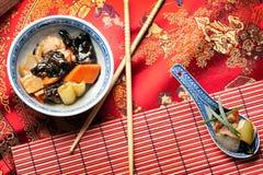 Alimento chino - pollo de Sichuan Fotos de archivo