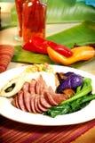 Alimento chino y vietnamita foto de archivo libre de regalías