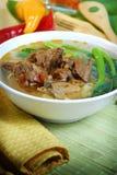 Alimento chino y vietnamita fotografía de archivo libre de regalías