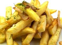 Alimento, chip Immagine Stock Libera da Diritti