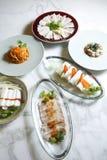Alimento cinese, antipasti. Fotografia Stock