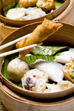 Alimento cinese, Dim Sum immagini stock