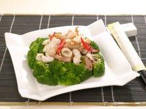 Alimento cinese squisito Fotografia Stock