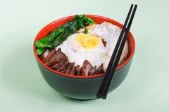 Alimento cinese squisito Immagini Stock