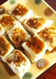 Alimento cinese, tofu Immagini Stock