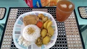 Alimento colombiano tipico Immagine Stock