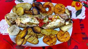 Alimento colorido e delicioso Imagens de Stock