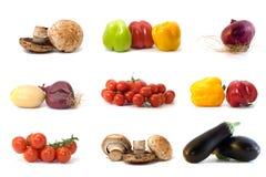 Alimento, comendo, vegetal, saudável, tomate, freshnes Fotos de Stock Royalty Free