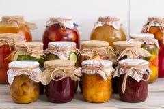 Alimento conservado Fotos de archivo libres de regalías