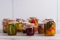 Alimento conservado Imagen de archivo