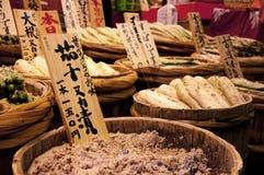 Alimento conservato giapponese fotografia stock libera da diritti