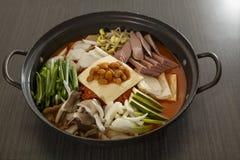 Alimento coreano Imagem de Stock
