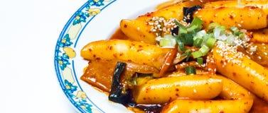 Alimento coreano Fotografia de Stock