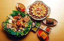 Alimento coreano Imagem de Stock Royalty Free