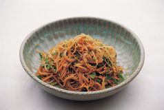 Alimento coreano Imagen de archivo