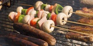 Alimento da Barra-b-Que Fotografia de Stock Royalty Free